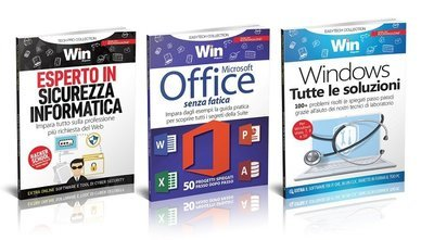TECH COLLECTION - OFFICE SENZA FATICA + WINDOWS + ESPERTO IN SICUREZZA INFORMATICA
