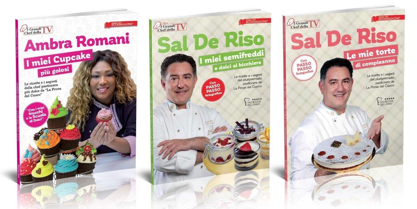 I GRANDI CHEF DELLA TV - SAL DE RISO + AMBRA ROMANI