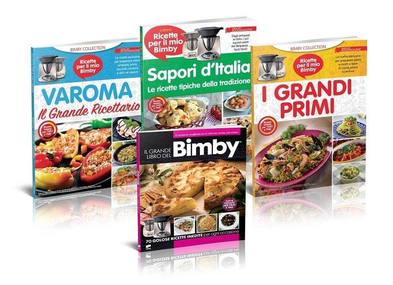IL GRANDE LIBRO DEL BIMBY + I GRANDI PRIMI+ VAROMA + SAPORI D'ITALIA