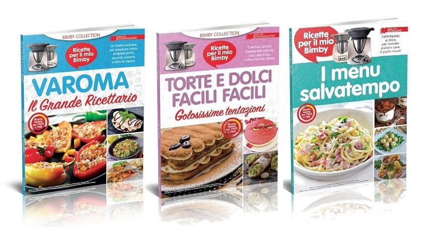 TORTE E DOLCI FACILI FACILI + I MENU SALVATEMPO + VAROMA