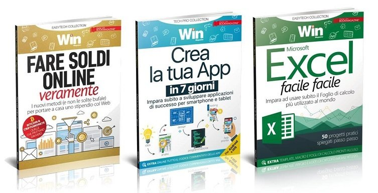 TECH COLLECTION - CREA LA TUA APP IN 7 GIORNI + FARE SOLDI ON LINE + EXCEL FACILE FACILE