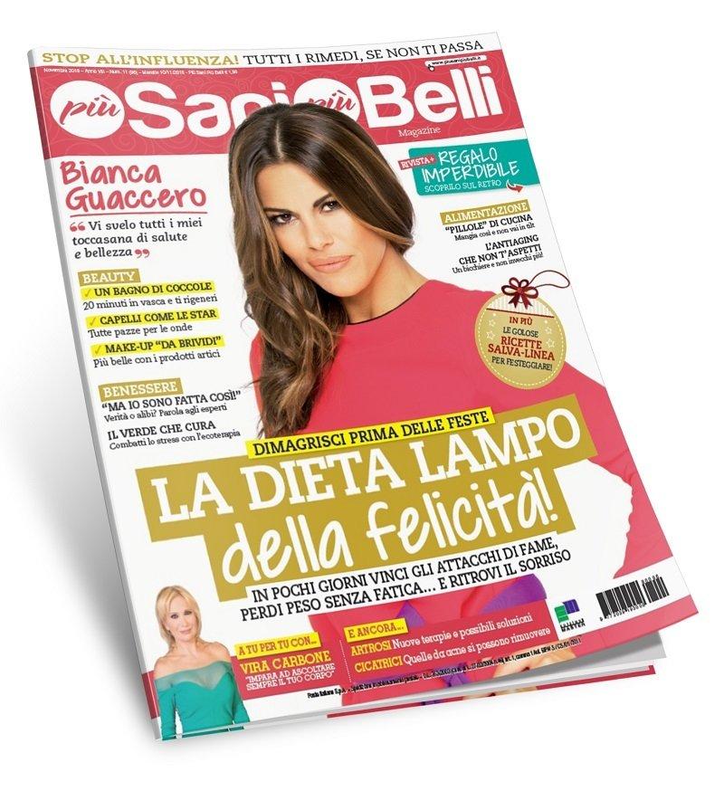 Più Sani più Belli magazine - Abbonamento per 12numeri