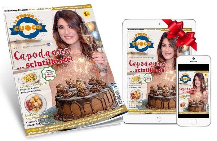 La Prova del Cuoco magazine:  abbonamento a 24 numeri + VERSIONE DIGITALE