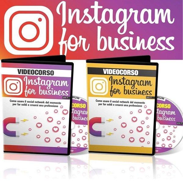 VIDEOCORSO INSTAGRAM FOR BUSINESS (DVD1+DVD2)