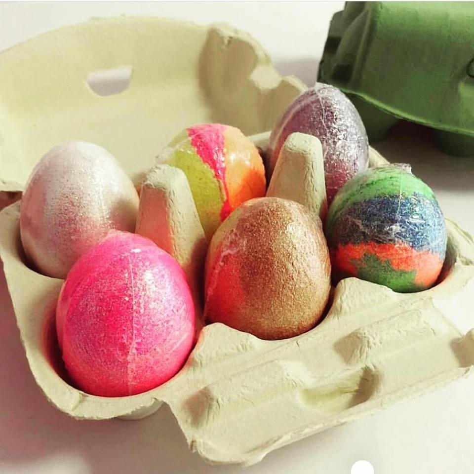 Cookie Moo Easter Egg Bath Bombs