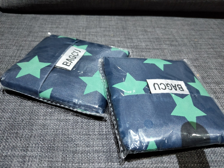 Star Blue reusable bag
