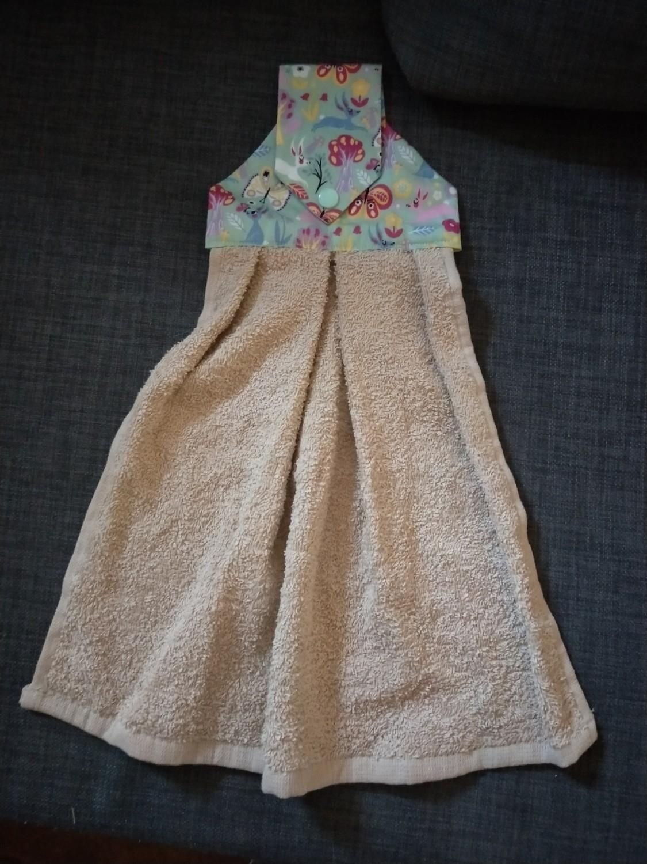 I'm Sew Happy - Hanging towel #2