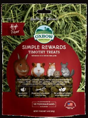 Oxbow simple reward timothy treat