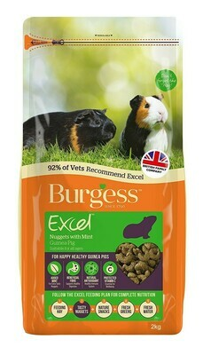 Burgess Mint For Guinea Pigs - Mint 2KG bags