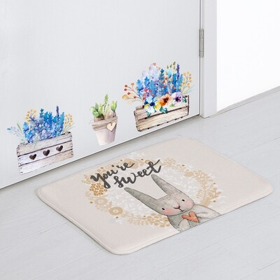 Bunny  Floor Matt 27