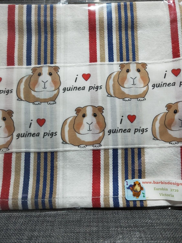 Barbi's Design - Guinea Pig Tea towel 2