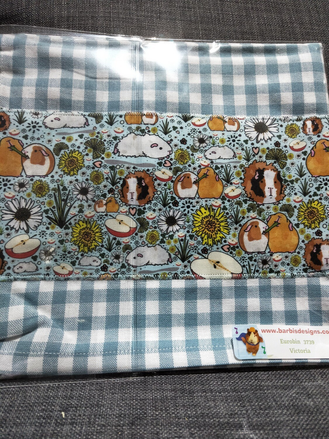 Barbi's Design - Guinea Pig Tea towel 3