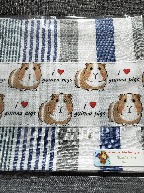 Barbi's Design - Guinea Pig Tea towel 6