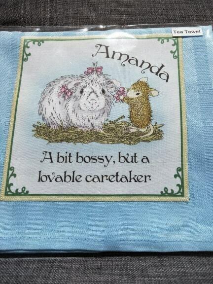 Barbi's Design - Guinea Pig Tea towel 10