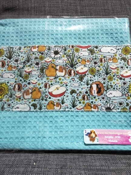 Barbi's Design - Guinea Pig Tea towel 11