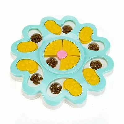 Flower puzzle toy -pink
