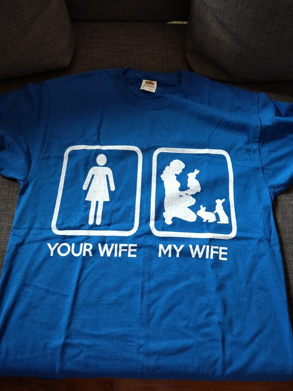 Blue Medium Tshirt