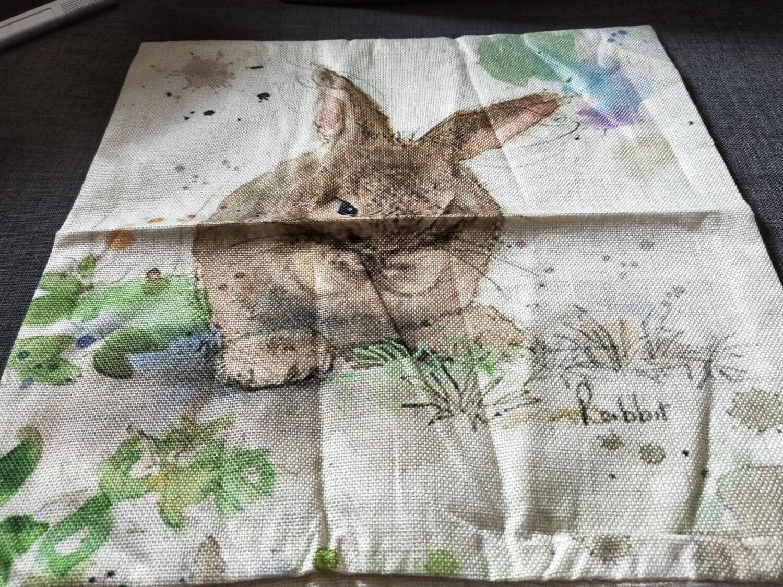 Bunny Cushion Cover 16