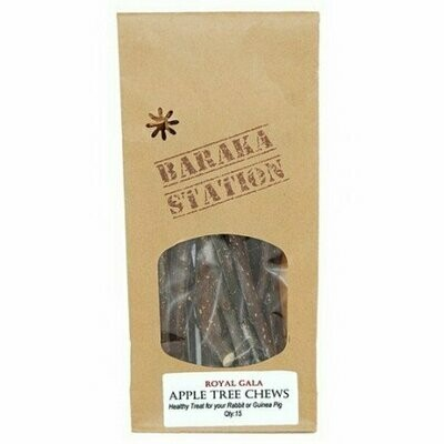 Baraka Station - Red Delicious apple tree chews
