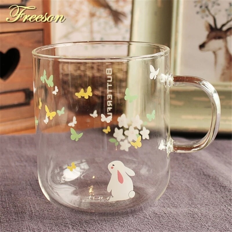 Butterfly mug - standing bun - new stock arriving mid dec