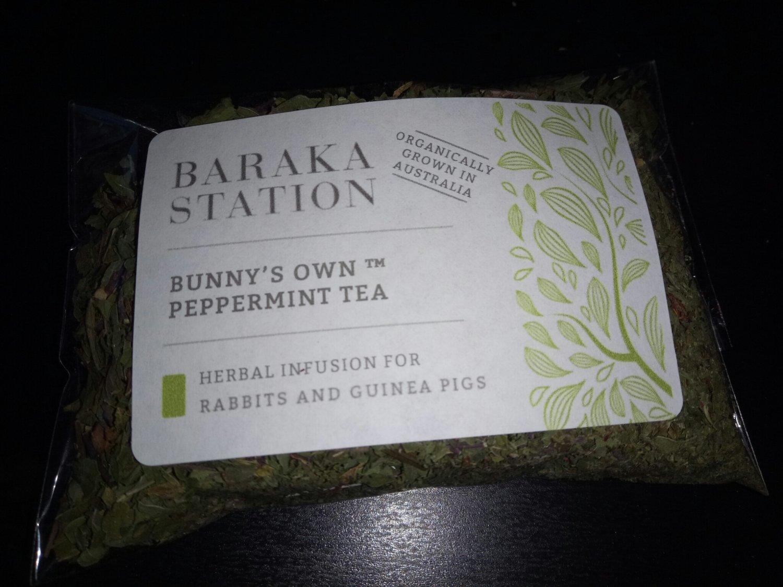 Baraka Station - Bunny's own peppermint Tea