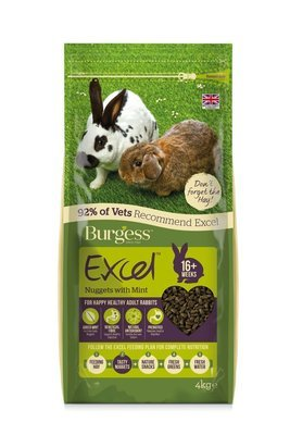 Burgess Mint For Rabbits - 2 KG bags
