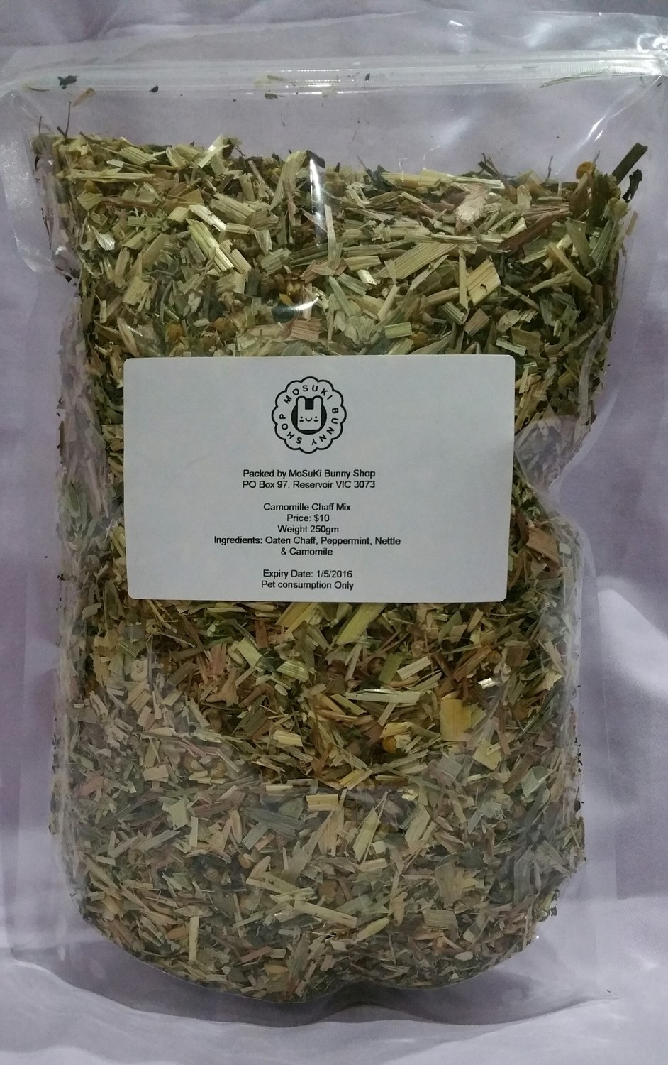 Chaff Mix with Floral Mix