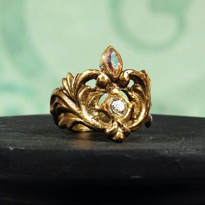 Ring 'Kamasutra' in similor - Kaat Tilley