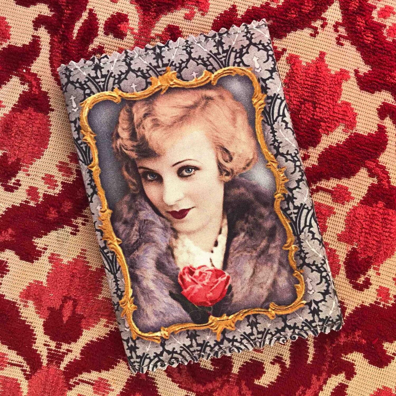 Etui pasport 'Divine' - Les Cakes de Bertrand - inclusief 3 notitieboekjes (8,5 x 13)