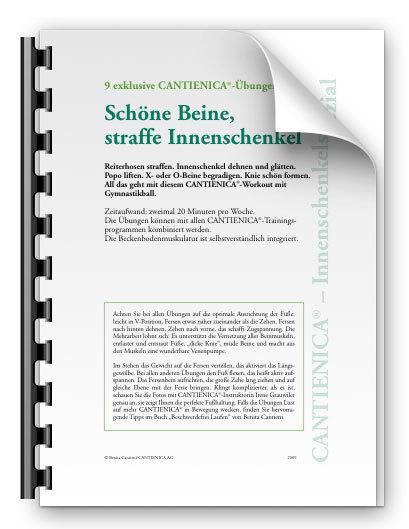 Innenschenkelspezial. Schöne Beine, straffe Innenschenkel (PDF)