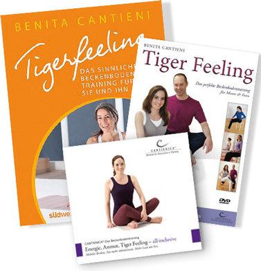 Tigerfeeling hoch 3: BUCH, DVD und CD