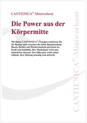 Einloggen    Favoriten Die Power aus der Körpermitte (PDF)