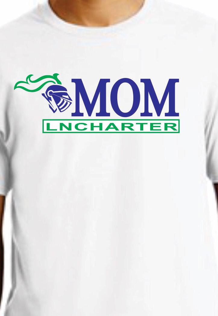 LNCHARTER MOM T-shirt