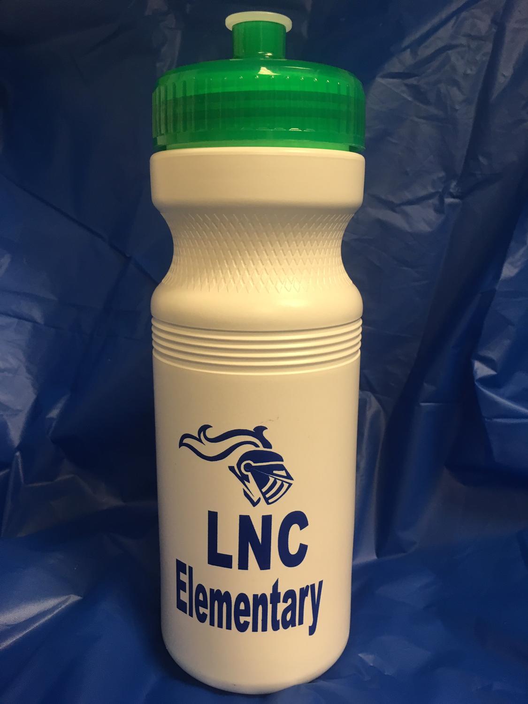 LNC Elementary Pop-top Water Bottle