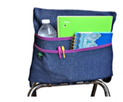 Aussie Pouch Chairback Holder for LNCES students only