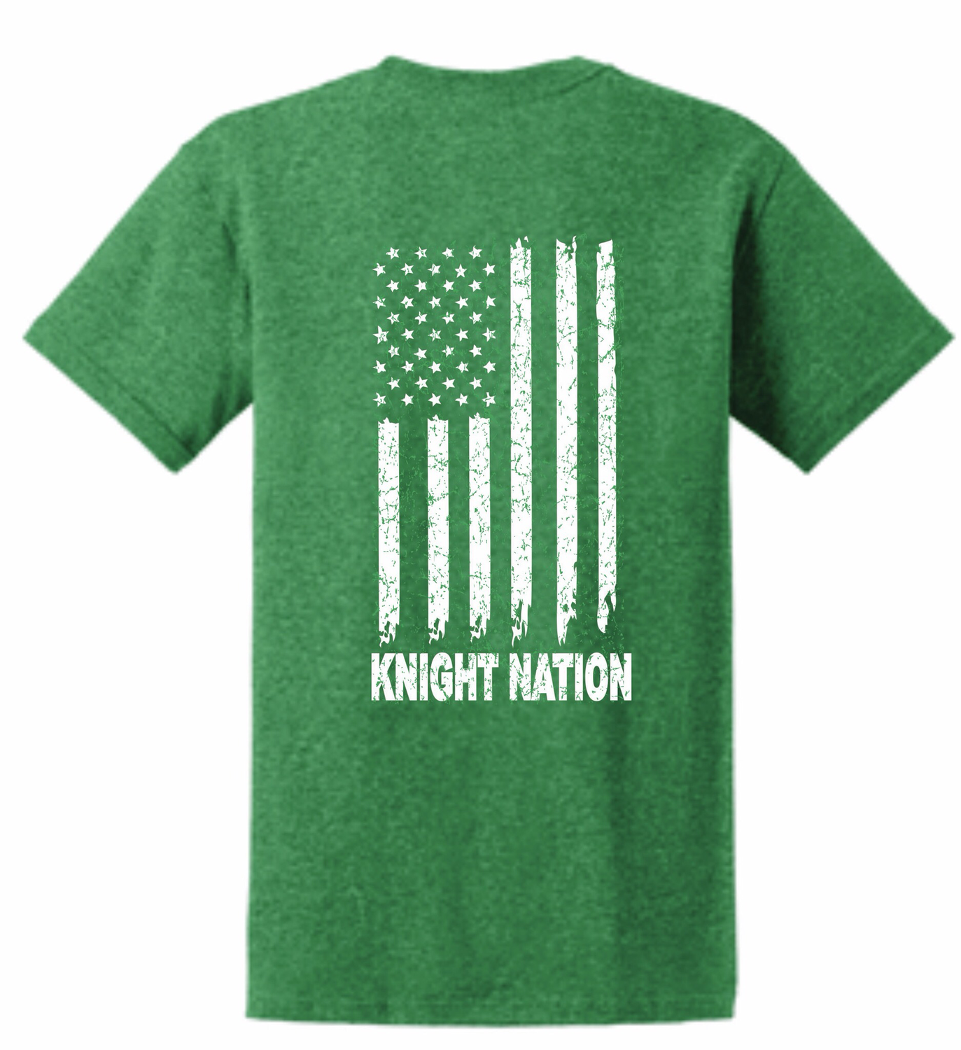 KNIGHT NATION Flag T-shirt-NEW!