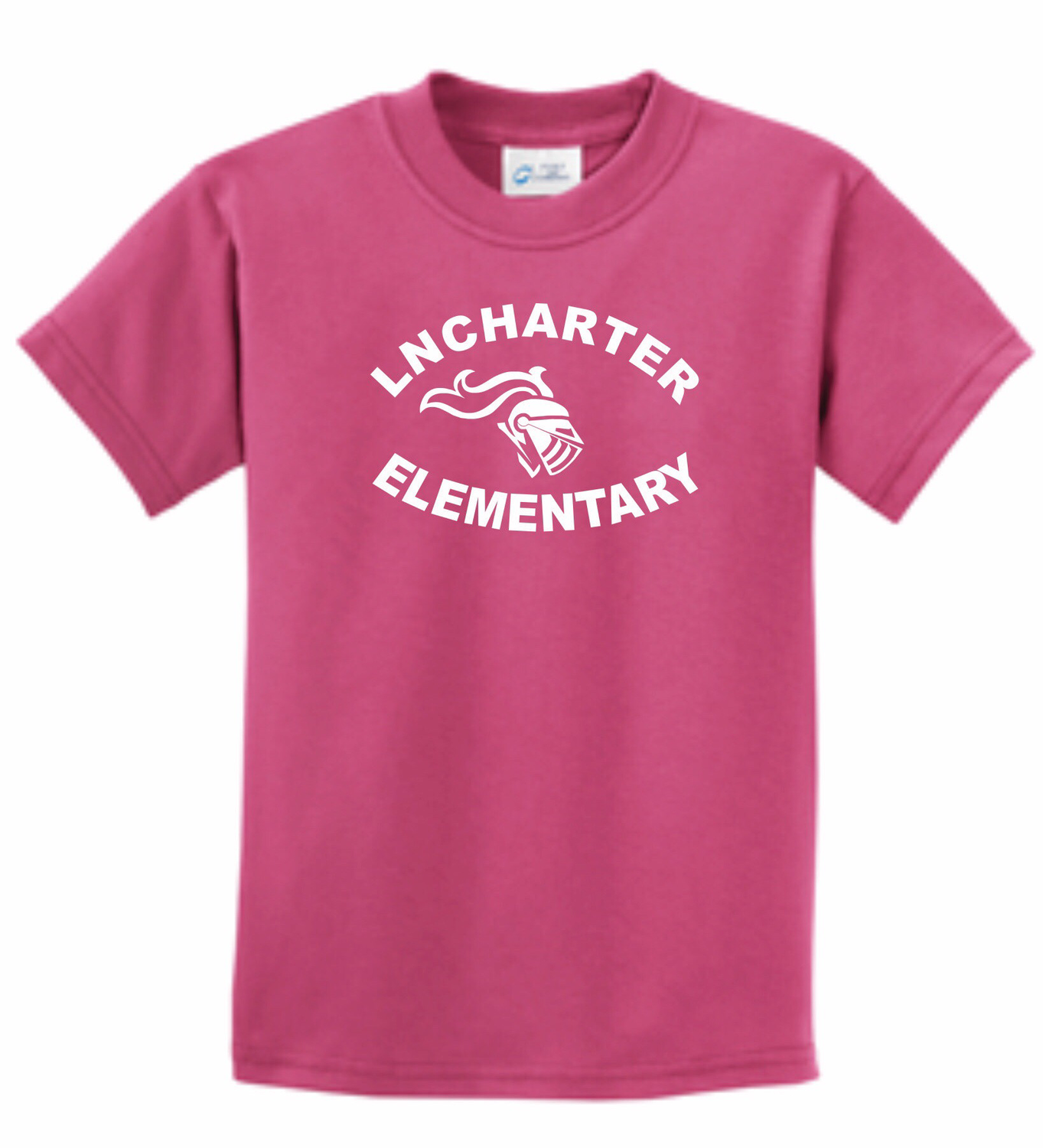 Youth LNCHARTER ELEM T-shirt-NEW in pink!