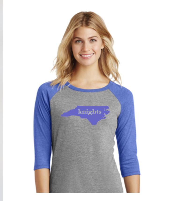 Ladies Baseball T-shirt-NEW!