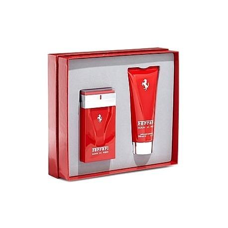 Ferrari - Coffret eau de toilette 50ML et gel douche Man in Red S