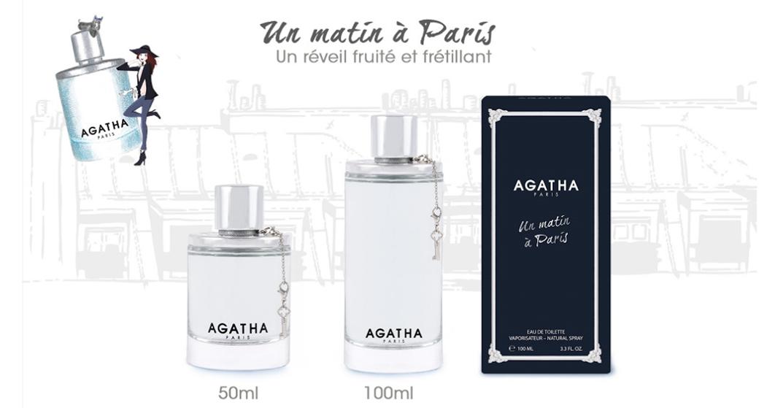 UN MATIN A PARIS AGATHA EAU DE TOILETTE 100ML