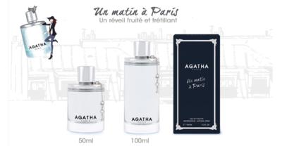 UN MATIN A PARIS AGATHA EAU DE TOILETTE 50ML