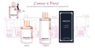 L'AMOUR A PARIS AGATHA EAU DE TOILETTE 100ML