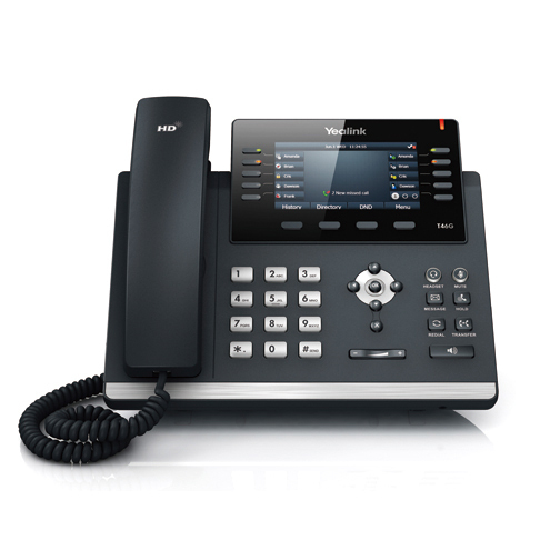 Yealink T46S  Ultra-elegant Gigabit IP Phone T46S