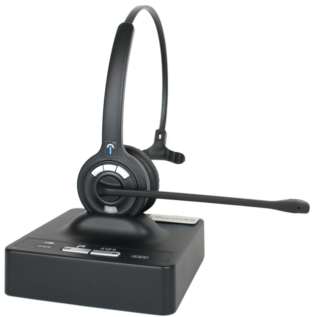 Discover® D901 Long Range Wireless Office Headset System 1657N