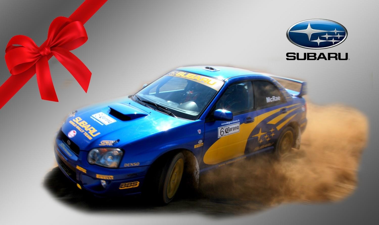 Regalo guida auto rally