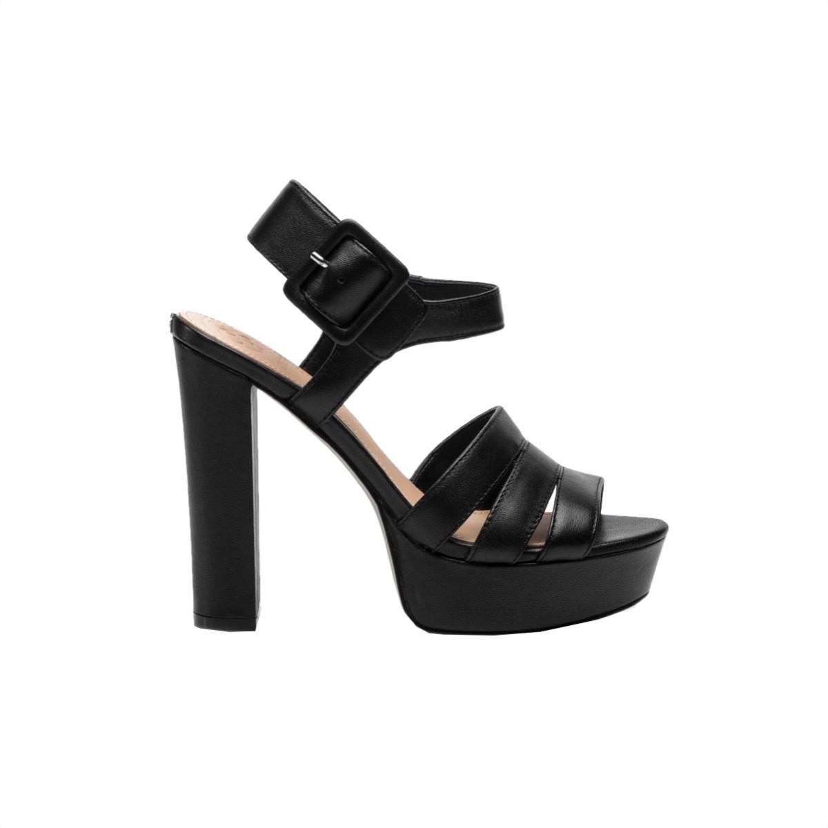 GUESS - Lylah sandali con plateau - Black