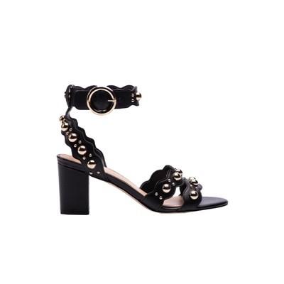 GUESS - Nikey sandalo in pelle - Black