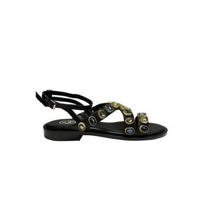 ASH - Princess sandalo con pietre - Black