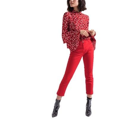 PATRIZIA PEPE - Camicia in Viscosa stampata - Red Pois