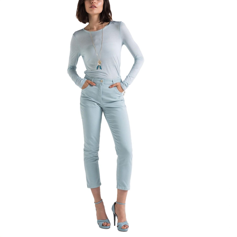 PATRIZIA PEPE - Jeans a vita alta - Glacier Sky